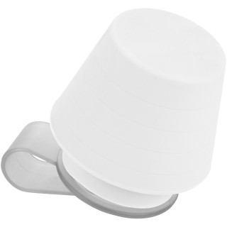 Saga lampshade and stand for smartphones, white