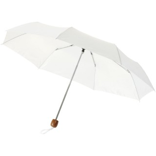 "Lino 21.5"" foldable umbrella, white"