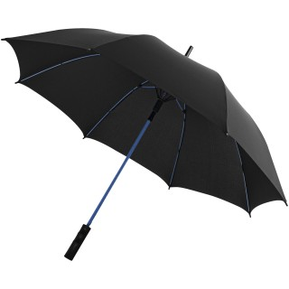"Stark 23"" windproof auto open umbrella, solid black,blue"