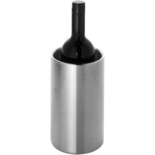 Cielo double-walled stainless steel wine cooler, silver