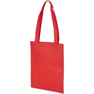 Eros non-woven small convention tote bag, red