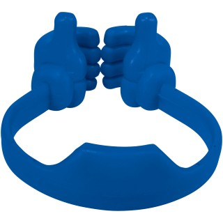 Thumbs-up smartphone stand, royal blue