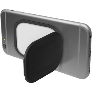 Flection phone stand and holder, solid black
