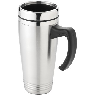 Pasadena 500 ml insulated mug, silver