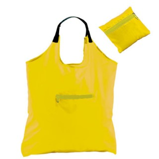 Foldable Bag Forest City, yellow