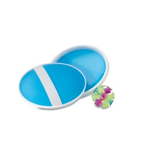 Suction ball catch set 'Catch&Play', blue