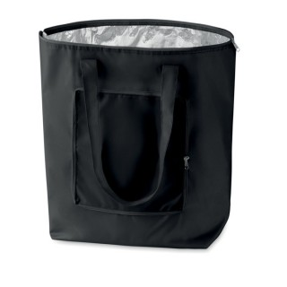 Foldable cooler shopping bag 'Plicool', black
