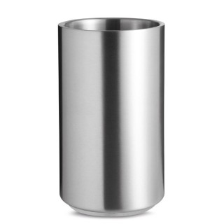 Stainless steel bottle cooler 'Coolio', dull silver