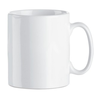 Sublimation ceramic mug 300 ml 'Sublim', white