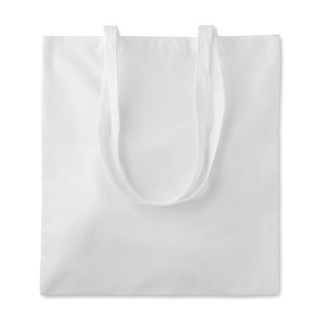 Bamboo fibre cotton shopping 'Tribe Tote', beige